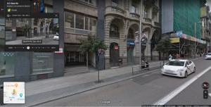 Ejemplo de Google Street View