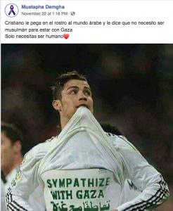 Tuit sobre Cristiano Ronaldo