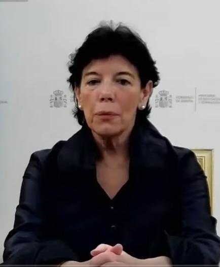 Ministra de Educación, Isabel Celáa